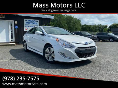 2015 Hyundai Sonata Hybrid for sale at Mass Motors LLC in Worcester MA