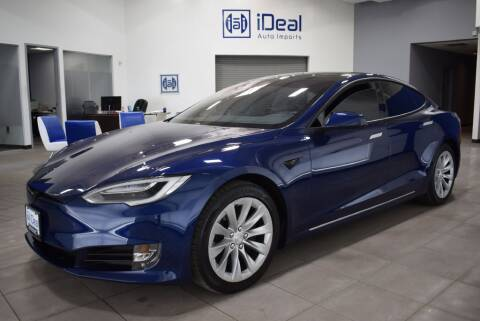 2018 Tesla Model S for sale at iDeal Auto Imports in Eden Prairie MN