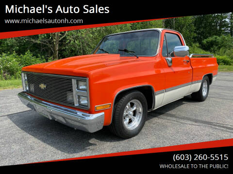 1984 Chevrolet C/K 10 Series for sale at Michael's Auto Sales in Derry NH