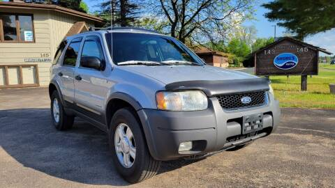 2002 Ford Escape for sale at Shores Auto in Lakeland Shores MN
