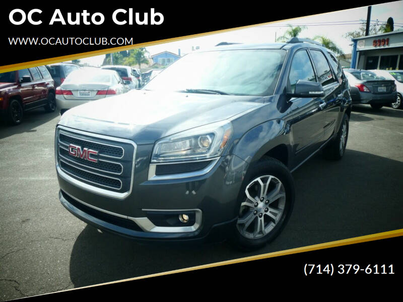 2014 GMC Acadia for sale at OC Auto Club in Midway City CA