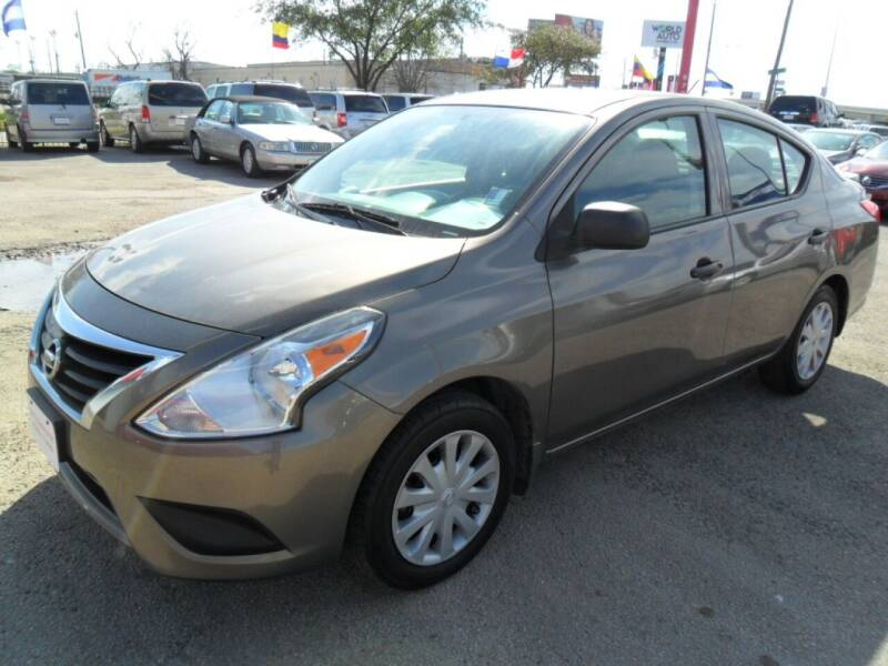 2015 Nissan Versa for sale at Talisman Motor City in Houston TX