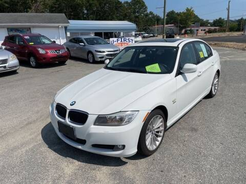 2011 BMW 3 Series for sale at U FIRST AUTO SALES LLC in East Wareham MA