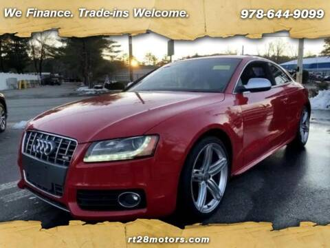 2012 Audi S5 for sale at RT28 Motors in North Reading MA