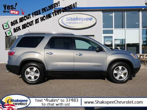 2008 GMC Acadia for sale at SHAKOPEE CHEVROLET in Shakopee MN
