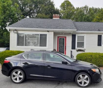 2013 Acura ILX for sale at SIGNATURES AUTOMOTIVE GROUP LLC in Spartanburg SC