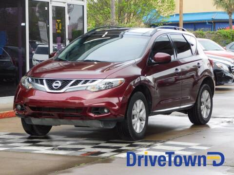 2012 Nissan Murano for sale at DriveTown in Houston TX