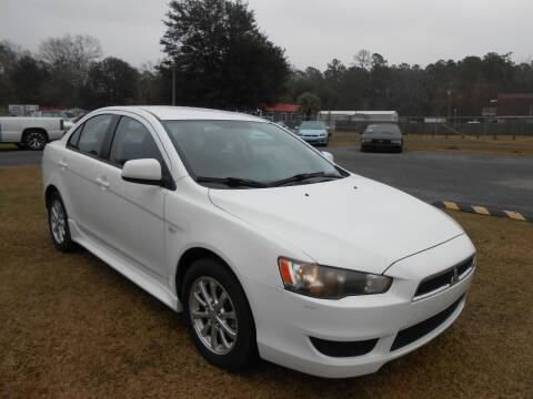2010 Mitsubishi Lancer for sale at Jeff's Auto Wholesale in Summerville SC