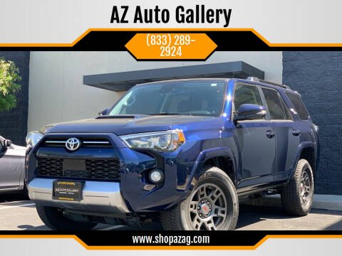 2020 Toyota 4Runner for sale at AZ Auto Gallery in Mesa AZ