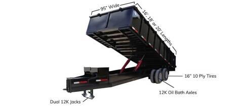 2021 TEXAS PRIDE 8' X 16' Bumper Pull 26K for sale at Montgomery Trailer Sales - Texas Pride in Conroe TX