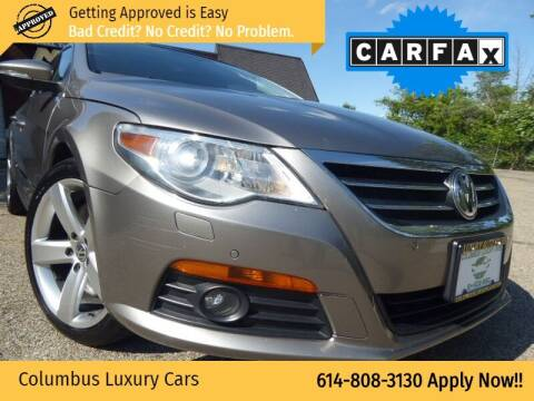 2009 Volkswagen CC for sale at Columbus Luxury Cars in Columbus OH