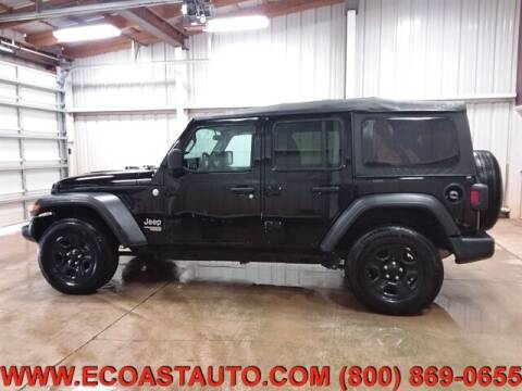 2019 Jeep Wrangler Unlimited for sale at East Coast Auto Source Inc. in Bedford VA