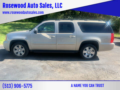 2008 GMC Yukon XL for sale at Rosewood Auto Sales, LLC in Hamilton OH
