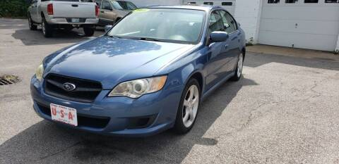 2008 Subaru Legacy for sale at Union Street Auto in Manchester NH