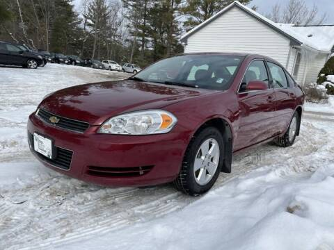 2007 Chevrolet Impala for sale at Williston Economy Motors in Williston VT