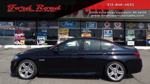2015 BMW 5 Series for sale at Ford Road Motor Sales in Dearborn MI