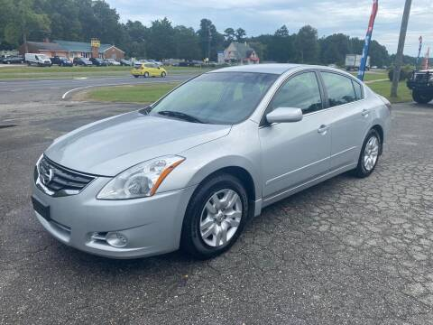 2010 Nissan Altima for sale at CVC AUTO SALES in Durham NC