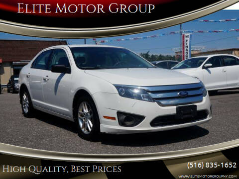 2012 Ford Fusion for sale at Elite Motor Group in Farmingdale NY