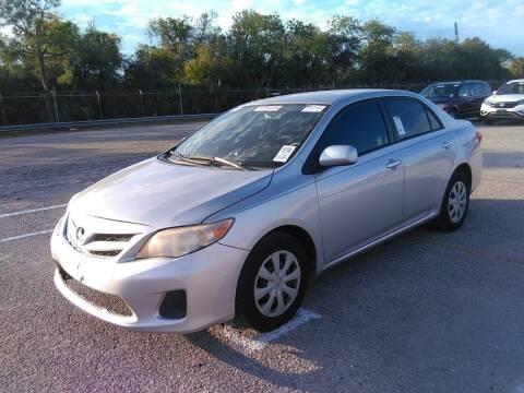 2011 Toyota Corolla for sale at L G AUTO SALES in Boynton Beach FL