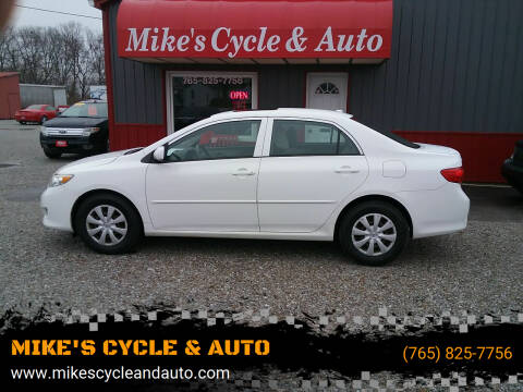 2009 Toyota Corolla for sale at MIKE'S CYCLE & AUTO - Mikes Cycle and Auto (Liberty) in Liberty IN