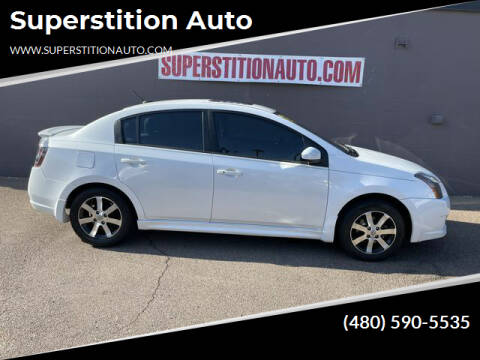 2012 Nissan Sentra for sale at Superstition Auto in Mesa AZ