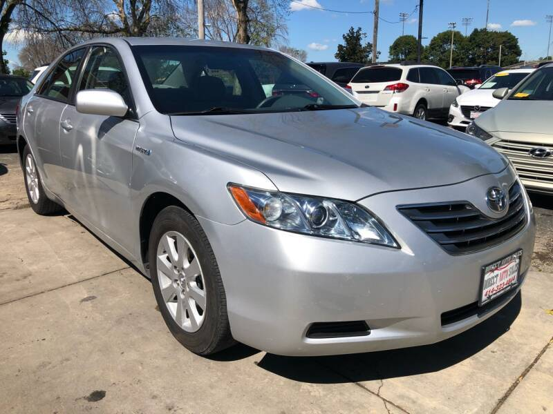 2007 Toyota Camry Hybrid for sale at Direct Auto Sales in Milwaukee WI
