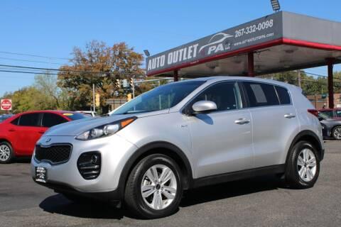 2018 Kia Sportage for sale at Deals N Wheels 306 in Burlington NJ
