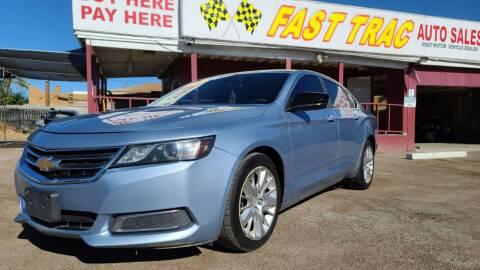 2014 Chevrolet Impala for sale at Fast Trac Auto Sales in Phoenix AZ