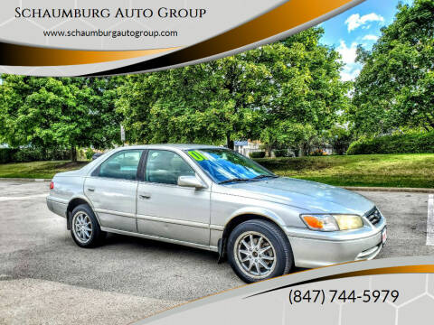 2001 Toyota Camry for sale at Schaumburg Auto Group in Schaumburg IL