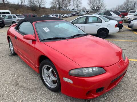 1999 Mitsubishi Eclipse Spyder for sale at Trocci's Auto Sales in West Pittsburg PA