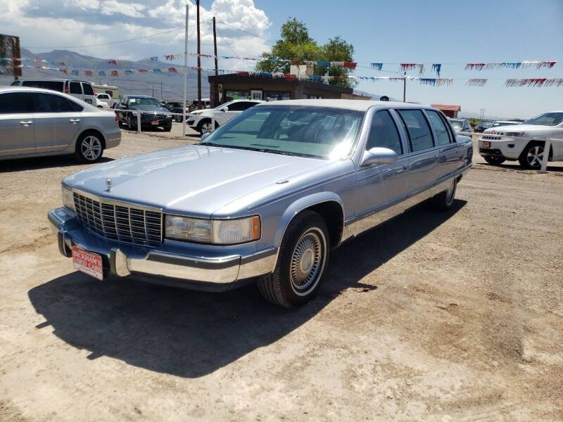 1995 Cadillac Fleetwood for sale at Bickham Used Cars in Alamogordo NM