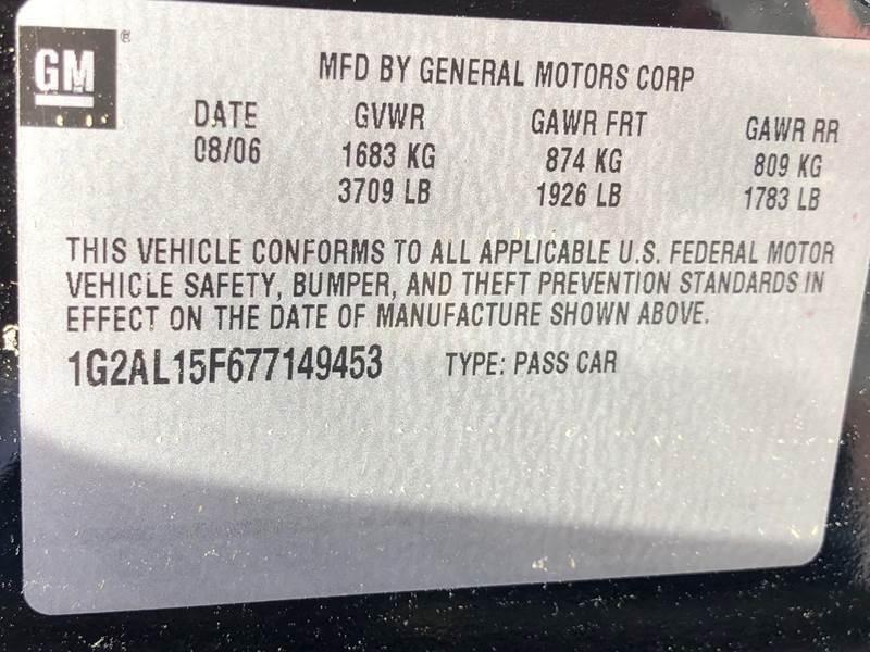 2007 Pontiac G5 2dr Coupe - Virginia Beach VA