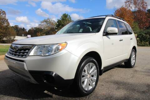 2012 Subaru Forester for sale at Oak City Motors in Garner NC