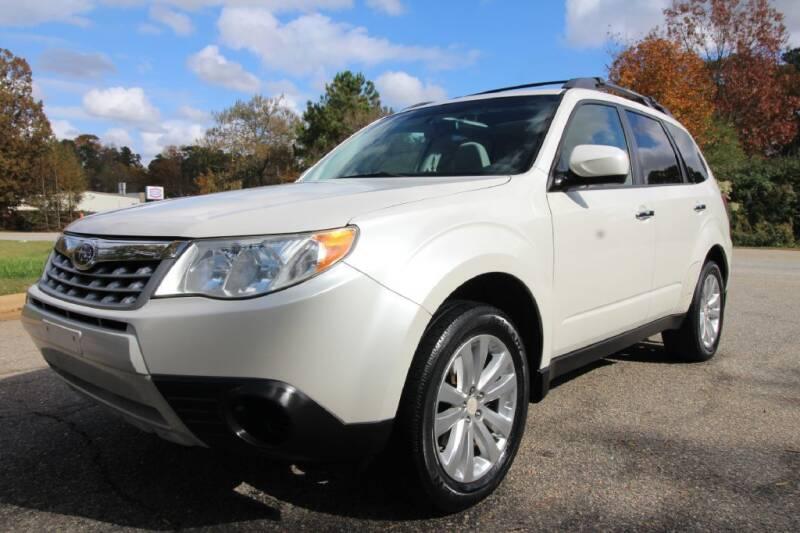 2012 Subaru Forester for sale at Oak City Motors in Garner NC