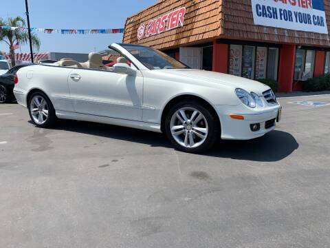 2008 Mercedes-Benz CLK for sale at CARSTER in Huntington Beach CA