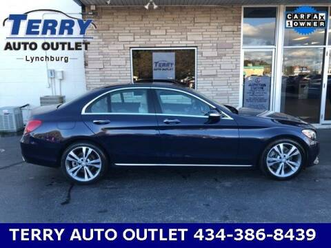 2015 Mercedes-Benz C-Class for sale at Terry Auto Outlet in Lynchburg VA