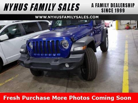 2020 Jeep Wrangler for sale at Nyhus Family Sales in Perham MN