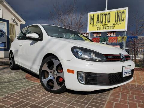 2010 Volkswagen GTI for sale at M AUTO, INC in Millcreek UT