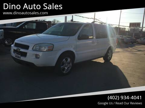 2007 Chevrolet Uplander for sale at Dino Auto Sales in Omaha NE