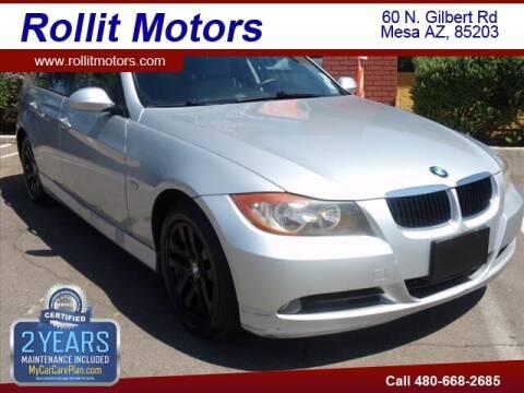 2007 BMW 3 Series for sale at Rollit Motors in Mesa AZ