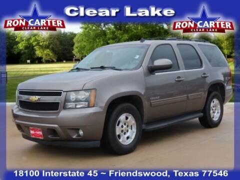 2011 Chevrolet Tahoe for sale at Ron Carter  Clear Lake Used Cars in Houston TX