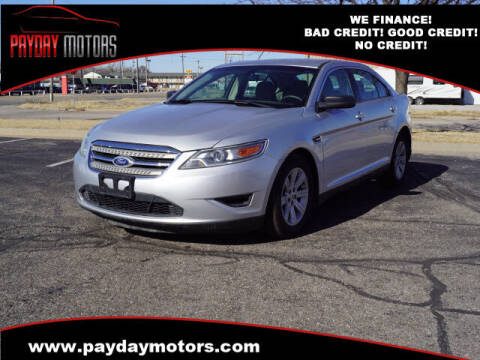 2010 Ford Taurus for sale at Payday Motors in Wichita And Topeka KS