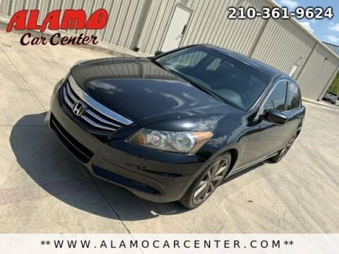 2012 Honda Accord for sale at Alamo Car Center in San Antonio TX