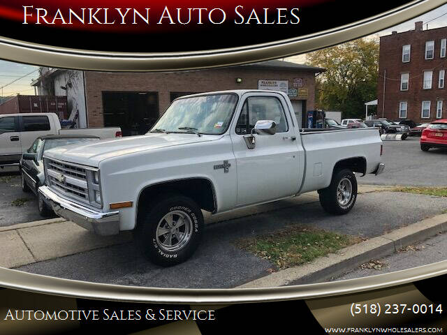 1987 Chevrolet R/V 10 Series for sale at Franklyn Auto Sales in Cohoes NY