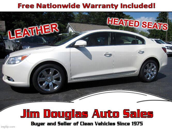 2011 Buick LaCrosse for sale at Jim Douglas Auto Sales in Pontiac MI