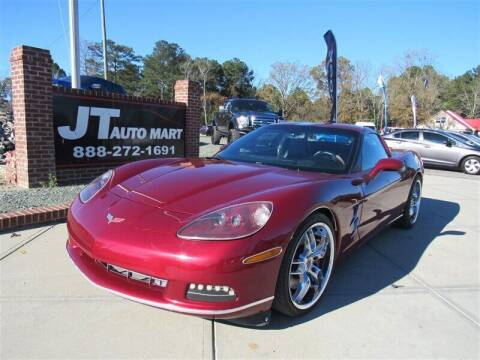 2006 Chevrolet Corvette for sale at J T Auto Group in Sanford NC