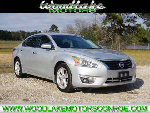 2015 Nissan Altima for sale at WOODLAKE MOTORS in Conroe TX