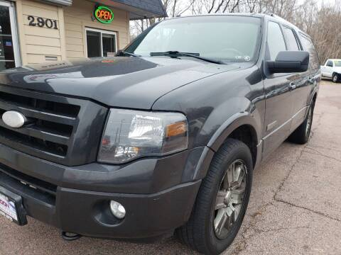 2007 Ford Expedition EL for sale at Gordon Auto Sales LLC in Sioux City IA