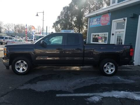 2014 Chevrolet Silverado 1500 for sale at Bridge Auto Group Corp in Salem MA