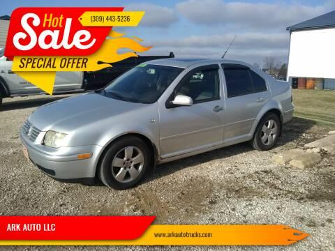 2004 Volkswagen Jetta for sale at ARK AUTO LLC in Roanoke IL